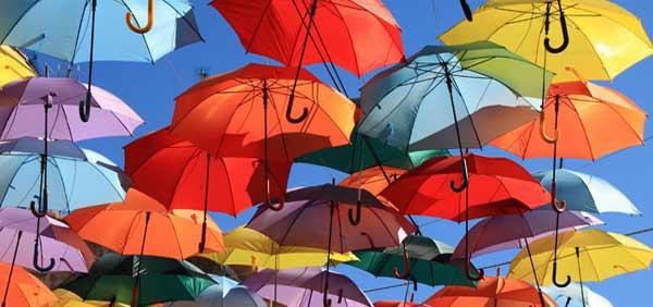 Los paraguas más divertidos